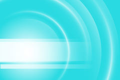 Blue light gradient background Stock Photography