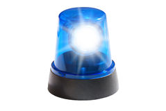 Blue light isolated Royalty Free Stock Photos