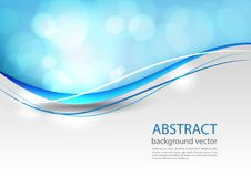 Blue line abstract background. Vector illustration. Blue light line abstract background. Vector illustration Stock Photo