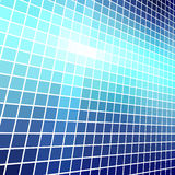 Blue light mosaic Royalty Free Stock Photos