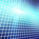 Blue light mosaic stock illustration