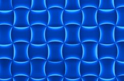 Blue Light Pillows Background Royalty Free Stock Image