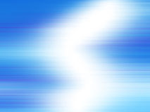Blue Light Rays Royalty Free Stock Image