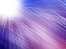 Blue Light Rays. Abstract of Blue Light Rays Royalty Free Stock Photos
