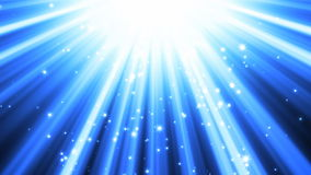 Blue Light Rays Background Stock Images