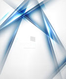 Blue light shadow straight lines design Royalty Free Stock Photo