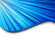 Blue light speed banner Royalty Free Stock Photography