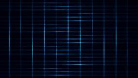 Blue Light Streaks Grid Loop Motion Background
