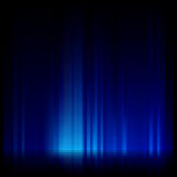 Blue light and stripes moving fast. EPS 10 Royalty Free Stock Photo