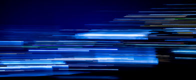 Free Blue Light Trails Royalty Free Stock Photo - 91841885
