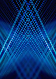 Blue light trails background Stock Photos