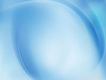 Blue Light Wave Abstract Background. EPS 10 Stock Images