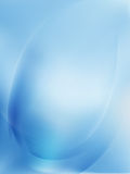Blue Light Wave Abstract Background. EPS 10 Stock Photography