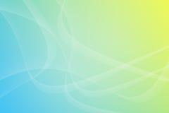 Blue Light Wave Background Stock Images