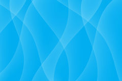 Blue Light Wave Background Royalty Free Stock Photography