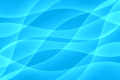 Blue Light Wave Background Royalty Free Stock Images
