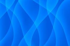 Blue Light Wave Background Stock Photo
