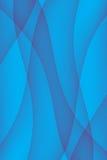 Blue Light Wave Background Stock Image