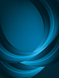 Blue light wave  background. EPS 8 Stock Image