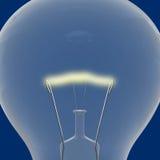 Blue lightbulb Stock Photo