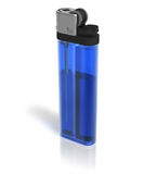 Blue lighter Royalty Free Stock Photos