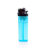 Blue lighter Royalty Free Stock Image