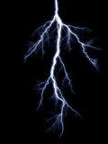 Blue lightning Stock Images