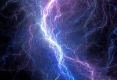 Blue lightning Royalty Free Stock Photo