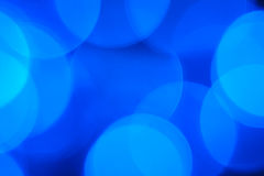 Blue lights Stock Photo