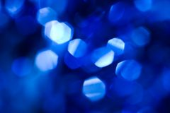 Blue lights Royalty Free Stock Image