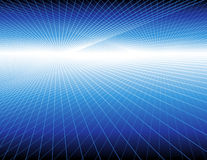 Blue lights. Vector illustration, AI file included Royalty Free Stock Photography