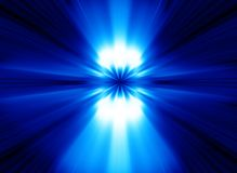 Blue Lights Abstract Background. Beautiful blue lights abstract background Royalty Free Stock Images