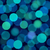 Blue lights background. Royalty Free Stock Photos