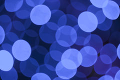 Blue lights background Royalty Free Stock Photography
