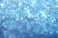 Blue lights background Stock Image