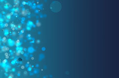 Blue lights background Stock Photography