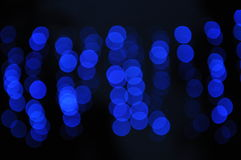 Blue lights Royalty Free Stock Images
