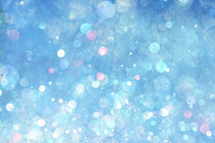 Blue lights background. Soft blue lights abstract background Stock Images