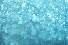 Blue lights background. Sparkling bright blue lights background Royalty Free Stock Image