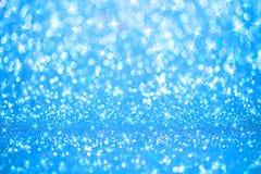 Blue lights background Stock Photos
