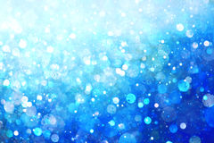 Blue lights background Royalty Free Stock Photos