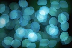 Blue lights defocused abstract background, Bright lights blurred bokeh. Blue lights defocused abstract backgrounds from lens bokeh effect, A group of lights stock photos
