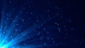 Blue lights loop stock footage