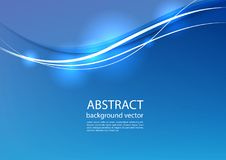 Blue line abstract background. Vector illustration. Blue line light design abstract background. Vector illustration Stock Image