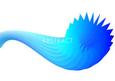 Blue line abstract background vector. Blue light color line abstract background vector Stock Photo
