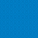 Blue Linear Weaved Seamless Pattern. Stock Photography