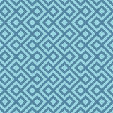 Blue Linear Weaved Seamless Pattern. Royalty Free Stock Photos