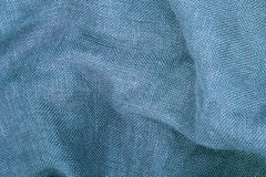 Blue linen Royalty Free Stock Photo
