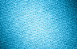 Blue linen canvas texture Stock Images