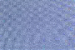 Blue linen fabric for the background. Royalty Free Stock Photography